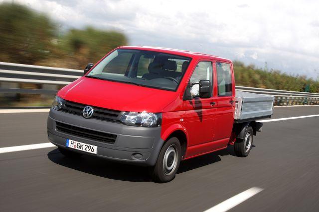 Volkswagen Transporter T5 GP skrzyniowy