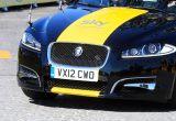 Jaguar XF kombi na drogach Wielkiej Brytanii