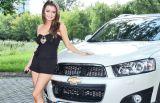 Gwiazda, taniec i Chevrolet Captiva