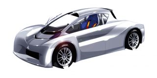 Prototyp i-MiEV na Pike's Peak International Hill Climb