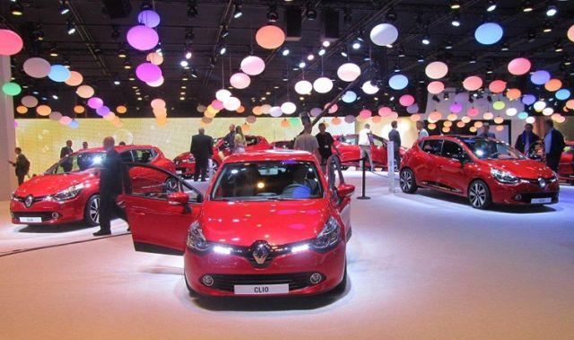 Nowe Renault Clio prezentowane na wystawie Paryż 2012
