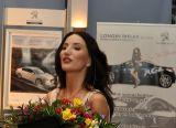 Justyna Steczkowska w Peugeot RCZ