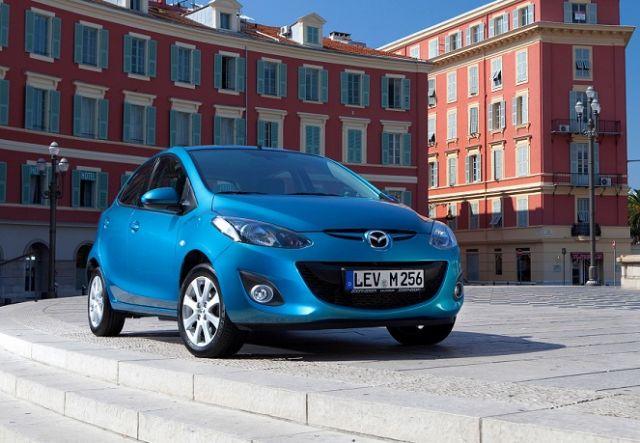 Mazda2 obecnej generacji (wersja na rynek europejski)