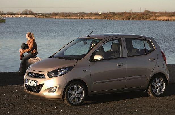 Hyundai i10 - pierwsze miejsce w kategorii auta małe (nota 4,5)