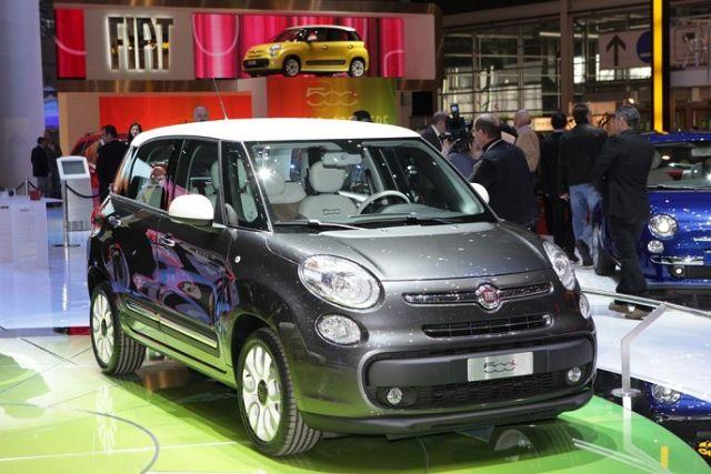 Fiat 500L zaprezentowany z okazji wystawy Genewa 2012