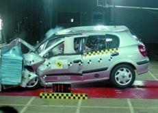 Test zderzeniowy EuroNCAP