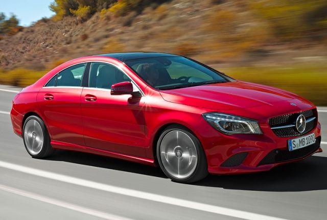 Obecnie dostępna wersja CLA coupe