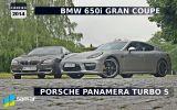 Porsche Panamera vs BMW 6 Gran Coupe - Siła razy prędkość