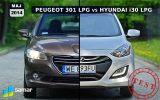 Peugeot 301 vs Hyundai i30: gazowy pojedynek