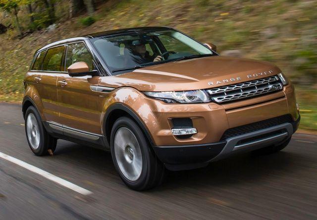 Range Rover Evoque wersja aktualna