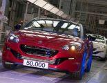 50 000 egzemplarzy Peugeot RCZ z linii produkcyjnej