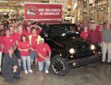 Jeep Wrangler JK w klubie milionerów