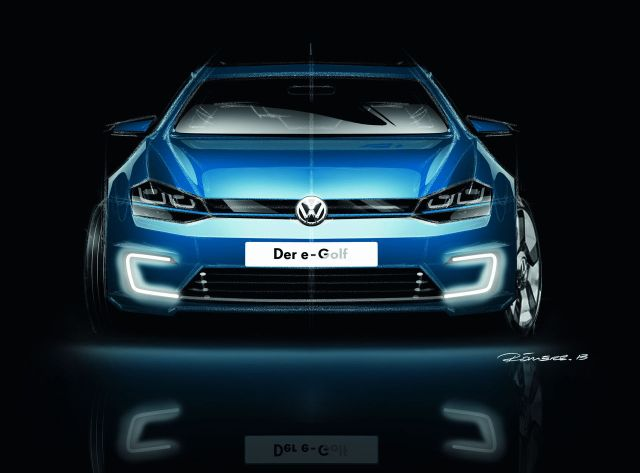 Volkswagen e-Golf [2013]