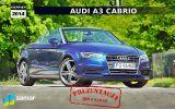 Audi A3 Cabrio – elegant z rozwianymi włosami