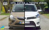 Opel Zafira Tourer vs Toyota Verso