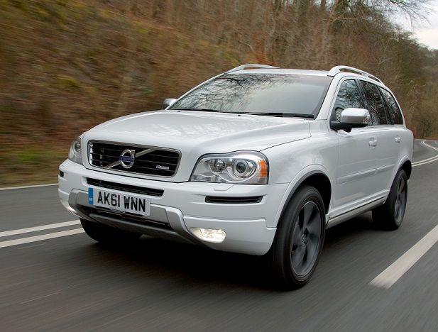 Volvo XC90 obecnej generacji