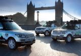 Pierwsze hybrydy Land Rovera czeka ciężka próba