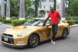Usain Bolt i wyjątkowy Nissan GT-R