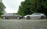 BMW Gran Coupe 650i & Porsche Panamera Turbo S 2014