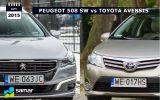 Peugeot 508 SW vs Toyota Avensis kombi: serce czy rozum?