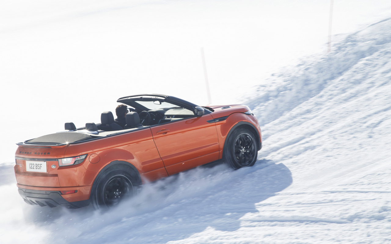 Автомобиль джип range rover evoque convertible без смс