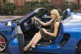 Piękna tenisistka i nowe Porsche