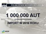 Ponad milion aut z importu
