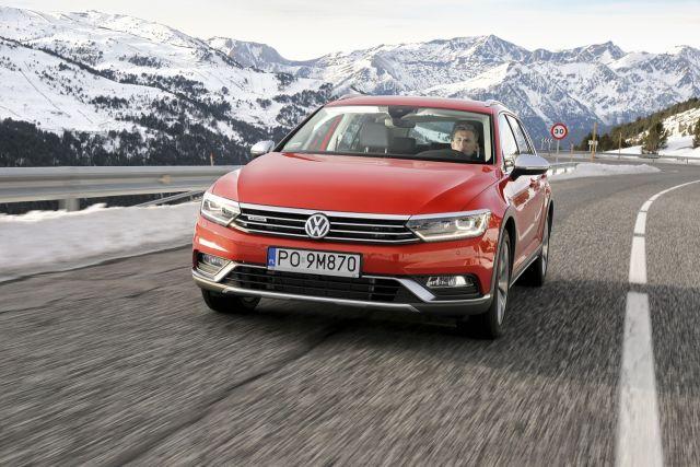 VW Passat Alltrack (Andora 2015)