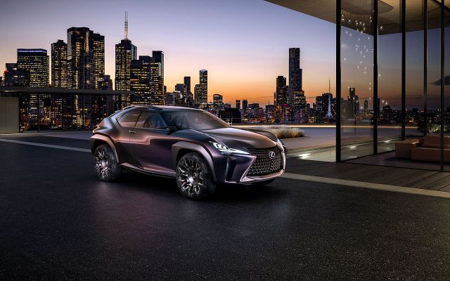 Lexus UX Concept - 2016