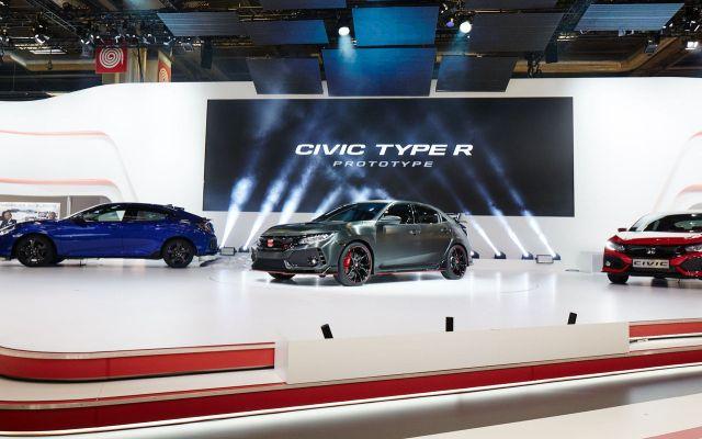 Honda Civic Type R Prototype - 2016