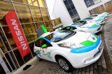 Elektryczne Nissany w Warszawie