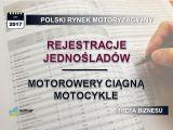Jednoślady - motorowery ciągną motocykle