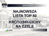 Lista TOP50 2018 – Najwięksi dealerzy w Polsce