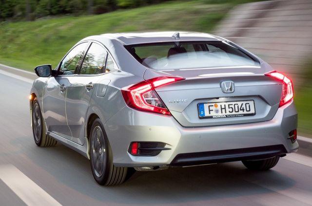 Nowa Honda Civic sedan 2017 – Tanio nie jest   www.samar.pl