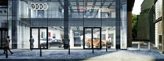 Audi City w Warszawie