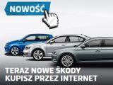 Skoda uruchomiła sprzedaż samochodów przez Internet