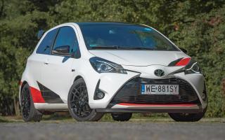 Toyota Yaris GRNM testowe 10.10.2018